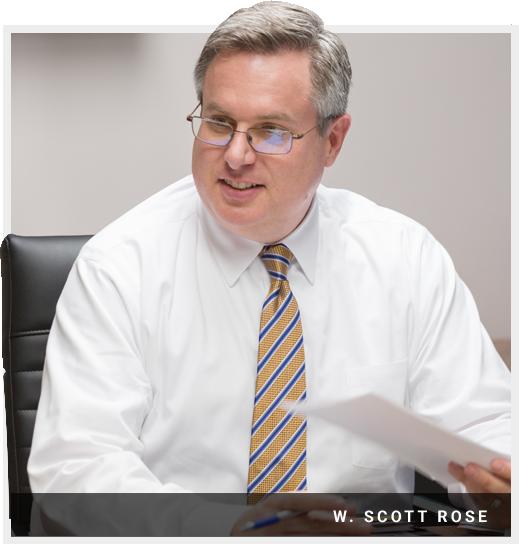 St. Louis criminal defense attorney, W. Scott Rose
